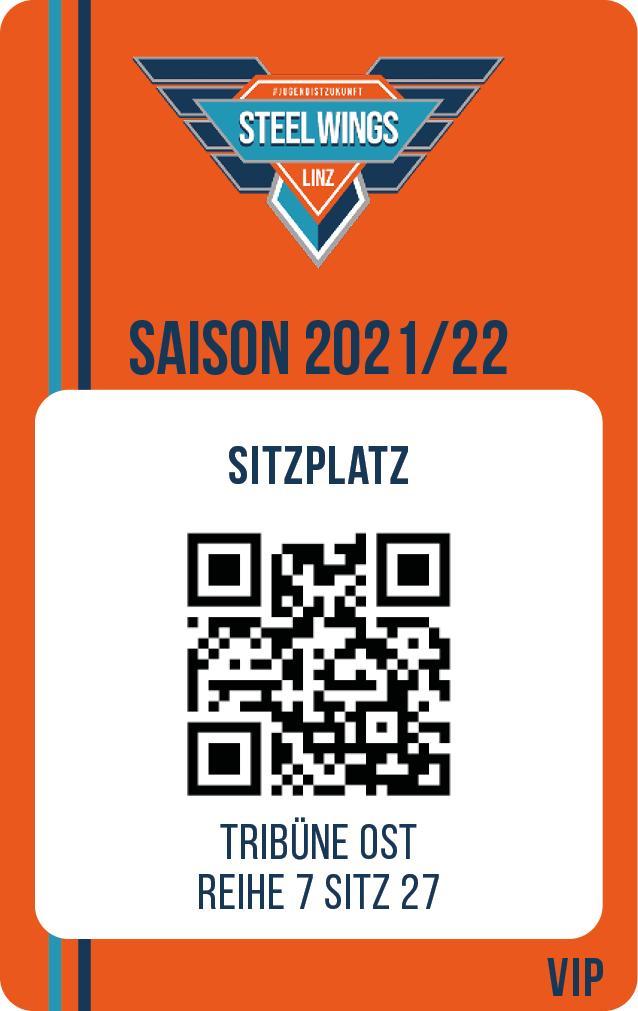 Saisonkarte V.I.P. 890 EURO